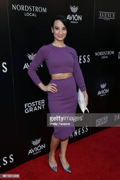 Alison Becker attends the premiere of Vertical Entertainment's 'In Darkness' at ArcLight Hollywood on May 23 2018 in Hollywood California