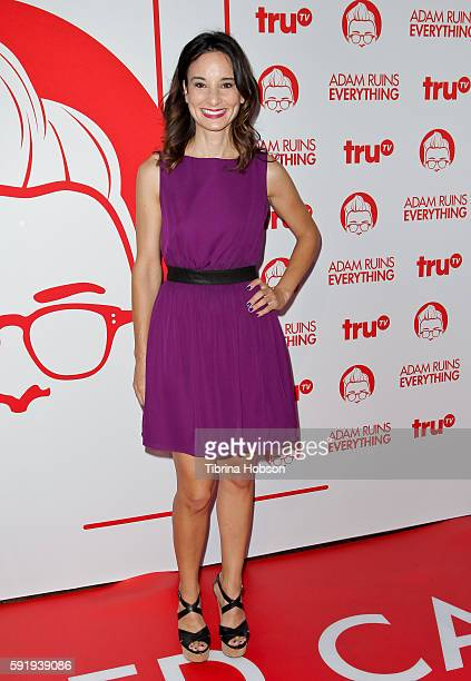 Alison Becker attends the screening and reception for truTV's 'Adam Ruins Everything' at The Library at The Redbury on August 18 2016 in Hollywood...
