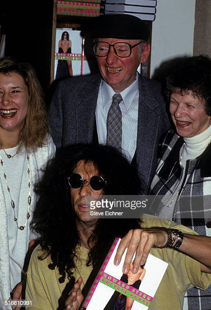 Alison Berns Stern Howard Stern Ray Stern and Ban Stern at Private Parts book signing at Barnes and Noble New York October 14 1993