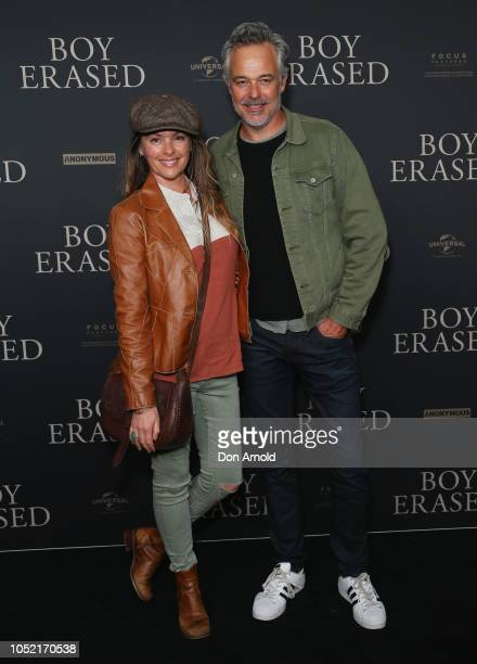 Alison Brahe and Cameron Daddo attend the Australian Premiere of Boy Erased at Event Cinemas George Street on October 15 2018 in Sydney Australia