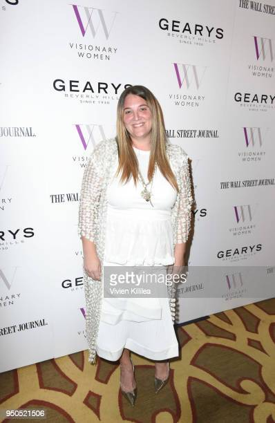 Alison Brettschneider attends Visionary Women Presents The New Normal How Social Media is Reshaping Your Life at The Montage on April 23 2018 in...