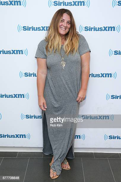Alison Brettschneider visits at SiriusXM Studio on July 19 2016 in New York City