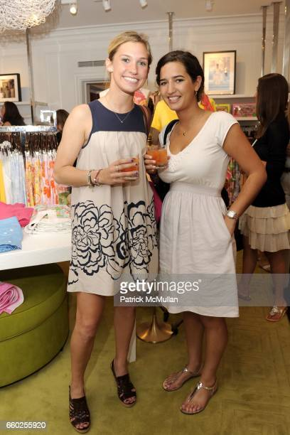 Alison Bridgeman and Rachel Tucker attend Lilly Pulitzer and Town Country celebrate 'A Colorful Cause' with celebrity host Brooke Shields at 1020...