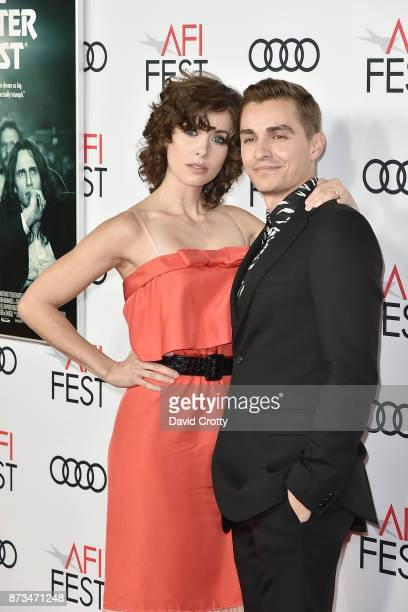 Alison Brie and Dave Franco attend the AFI FEST 2017 Presented By Audi Screening Of 'The Disaster Artist' Arrivals at TCL Chinese Theatre on November...