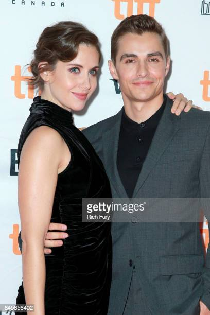 Alison Brie and Dave Franco attend The Disaster Artist premiere during the 2017 Toronto International Film Festival at Ryerson Theatre on September...