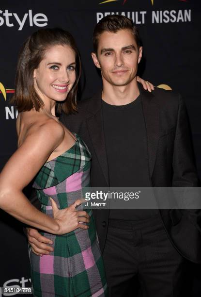 Alison Brie and Dave Franco attend The Hollywood Foreign Press Association and InStyle's annual celebrations of the 2017 Toronto International Film...