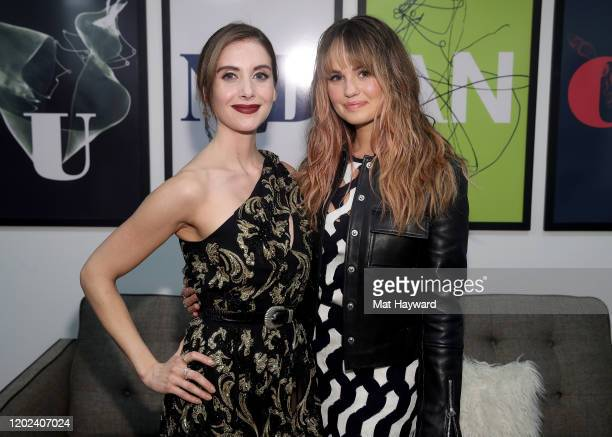 Alison Brie and Debby Ryan attend the Netflix Horse Girl Premiere at The Ray on January 27 2020 in Park City Utah