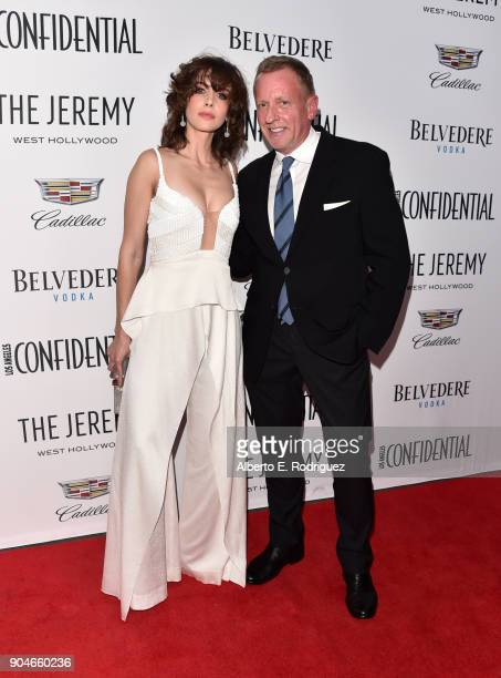 Alison Brie and Spencer Beck EditorinChief Los Angeles Confidential attend Los Angeles Confidential Celebrates 'Awards Issue' hosted by cover stars...