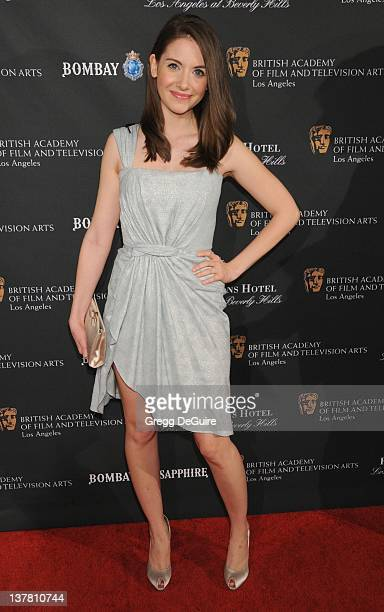 Alison Brie arrives at the 17th Annual BAFTA Los Angeles Awards Season Tea Party at the Four Seasons Hotel on January 15 2011 in Los Angeles...