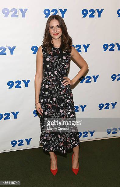 Alison Brie attends 92nd Street Y Presents 'Sleeping With Other People' at 92nd Street Y on September 3 2015 in New York City
