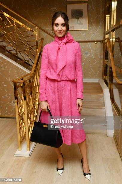 Alison Brie attends Glamour x Tory Burch Women To Watch Lunch on September 16 2018 in Los Angeles California