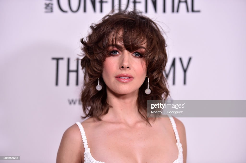 Alison Brie attends Los Angeles Confidential Celebrates 'Awards Issue' hosted by cover stars Alison Brie, Milo Ventimiglia and Ana De Armas at The Jeremy Hotel on January 13, 2018 in West Hollywood, California.