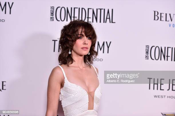 Alison Brie attends Los Angeles Confidential Celebrates 'Awards Issue' hosted by cover stars Alison Brie Milo Ventimiglia and Ana De Armas at The...
