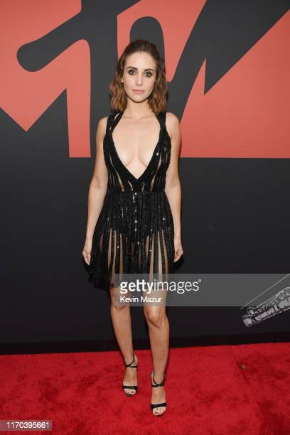 Alison Brie attends the 2019 MTV Video Music Awards at Prudential Center on August 26, 2019 in Newark, New Jersey.