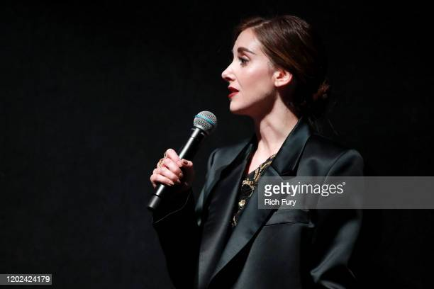 Alison Brie attends the 2020 Sundance Film Festival Horse Girl Premiere at The Ray on January 27 2020 in Park City Utah