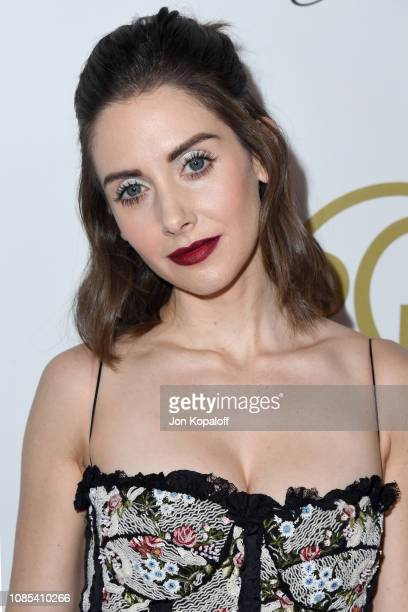 Alison Brie attends the 30th annual Producers Guild Awards at The Beverly Hilton Hotel on January 19 2019 in Beverly Hills California