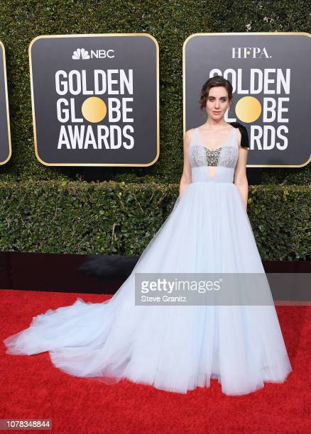 Alison Brie attends the 76th Annual Golden Globe Awards at The Beverly Hilton Hotel on January 6 2019 in Beverly Hills California