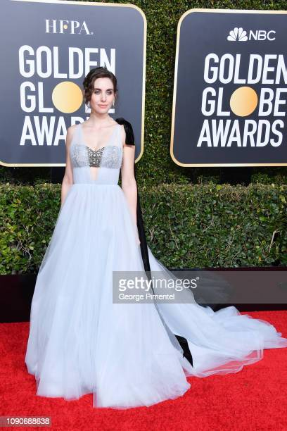 Alison Brie attends the 76th Annual Golden Globe Awards held at The Beverly Hilton Hotel on January 06 2019 in Beverly Hills California