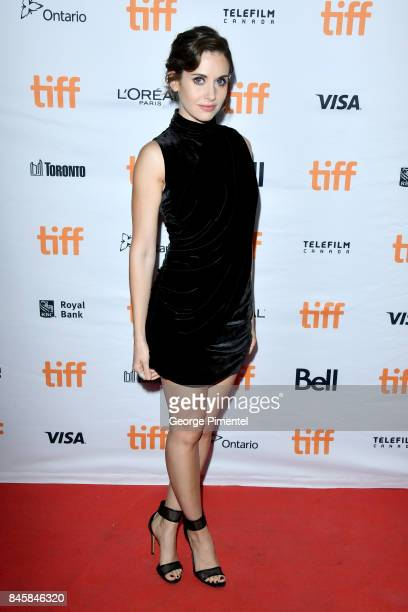Alison Brie attends 'The Disaster Artist' premiere during the 2017 Toronto International Film Festival at Ryerson Theatre on September 11 2017 in...