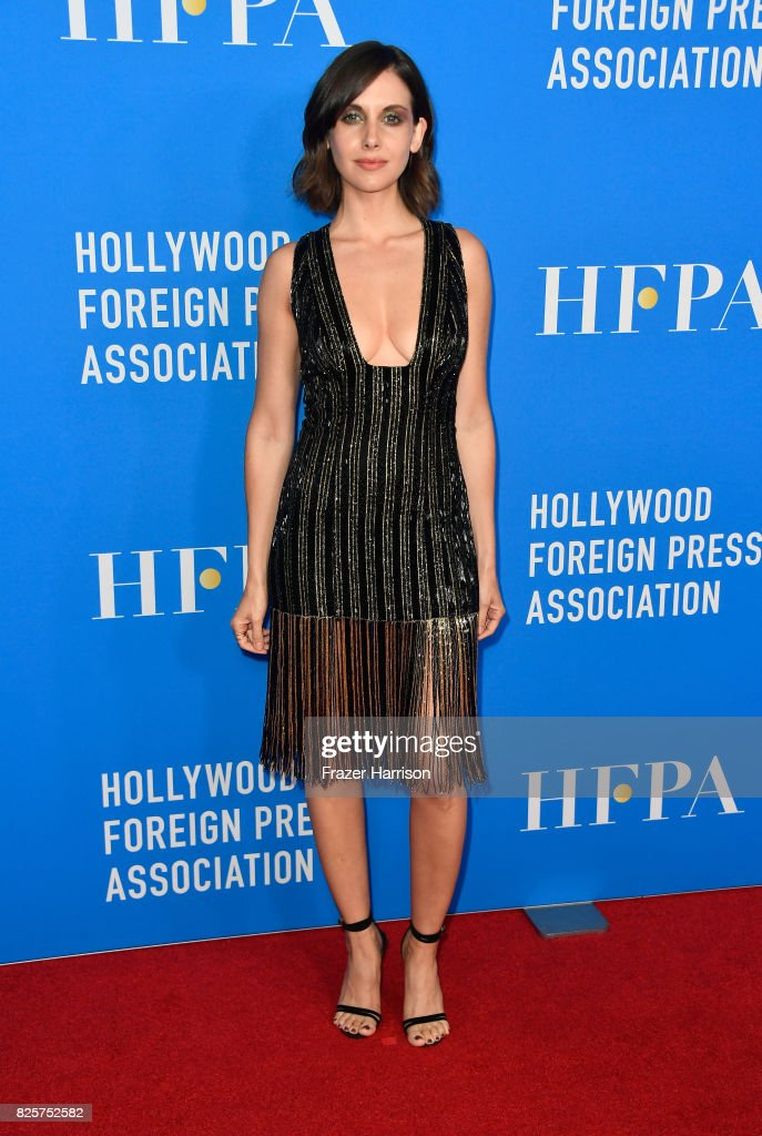 Alison Brie attends the Hollywood Foreign Press Association's Grants Banquet at the Beverly Wilshire Four Seasons Hotel on August 2, 2017 in Beverly Hills, California.