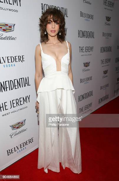Alison Brie attends the Los Angeles Confidential Alison Brie and Cadillac celebrate annual Awards Event with Belvedere Vodka at The Jeremy West...