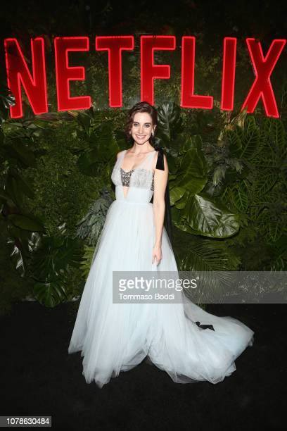 Alison Brie attends the Netflix 2019 Golden Globes After Party on January 6 2019 in Los Angeles California