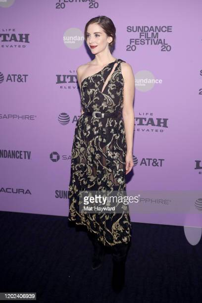 Alison Brie attends the Netflix Horse Girl Premiere at The Ray on January 27 2020 in Park City Utah