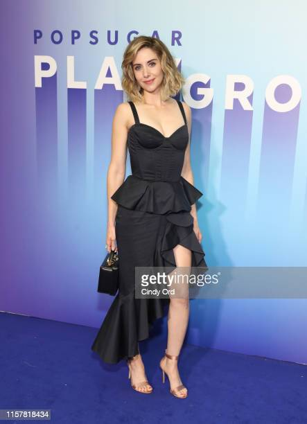 Alison Brie attends the POPSUGAR Play/Ground at Pier 94 on June 23, 2019 in New York City.