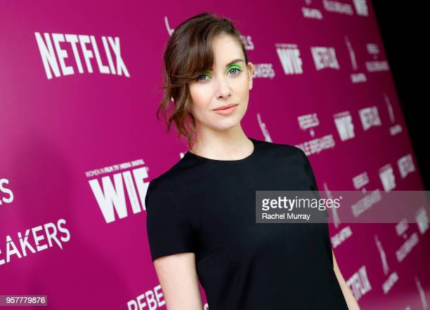Alison Brie attends the Rebels and Rule Breakers Panel at Netflix FYSEE at Raleigh Studios on May 12 2018 in Los Angeles California
