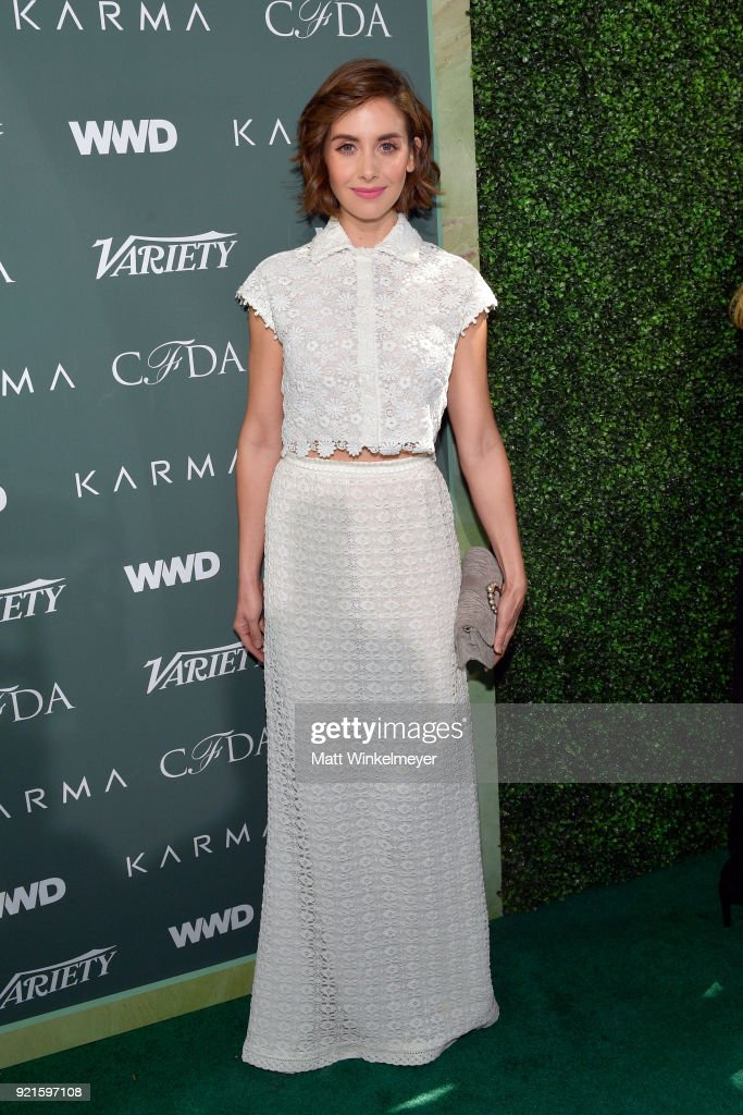 Alison Brie attends the Runway To Red Carpet, hosted by Council of Fashion Designers of America, Variety and WWD at Chateau Marmont on February 20, 2018 in Los Angeles, California.