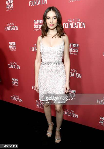 Alison Brie attends the SAGAFTRA Foundation's 3rd Annual Patron of the Artists Awards at the Wallis Annenberg Center for the Performing Arts on...