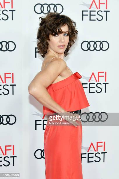 Alison Brie attends the screening of The Disaster Artist at AFI FEST 2017 Presented By Audi on November 12 2017 in Hollywood California