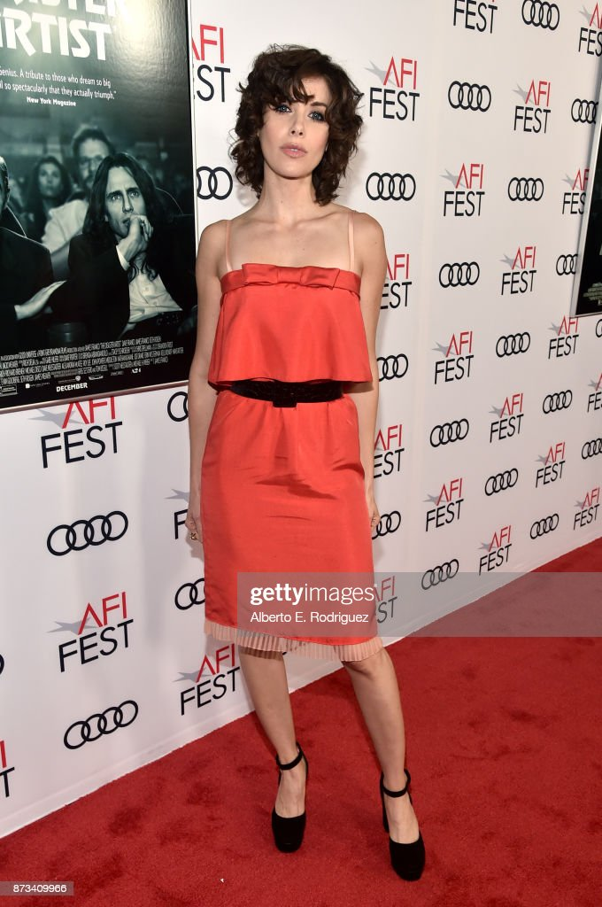 Alison Brie attends the screening of 'The Disaster Artist' at AFI FEST 2017 Presented By Audi on November 12, 2017 in Hollywood, California.