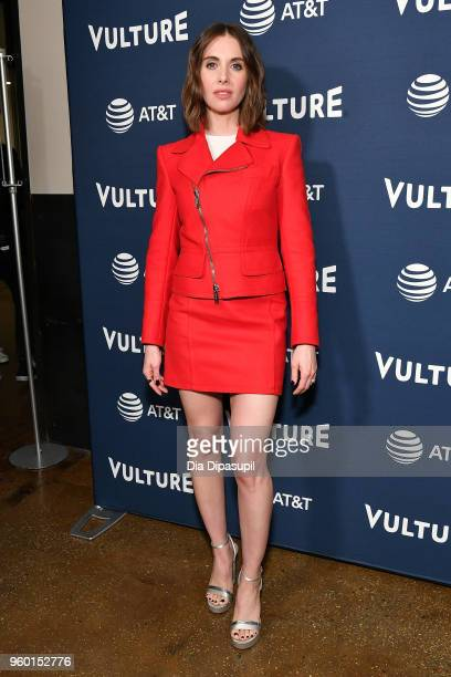 Alison Brie attends the Vulture Festival Presented By ATT Milk Studios Day 1 at Milk Studios on May 19 2018 in New York City