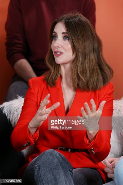 Alison Brie attends The Vulture Spot presented by Amazon Fire TV 2020 at The Vulture Spot on January 27 2020 in Park City Utah