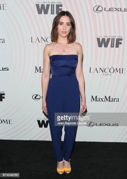 Alison Brie attends the Women In Film 2018 Crystal Lucy Awards at The Beverly Hilton Hotel on June 13 2018 in Beverly Hills California