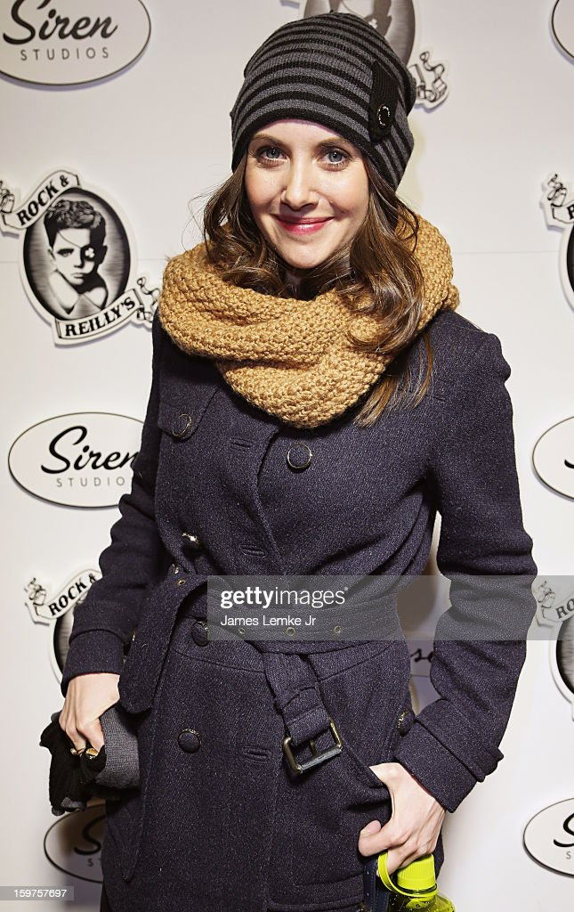 Alison Brie attends 'Toy's House' Official Cast After-Party Sponsored By Siren on January 19, 2013 in Park City, Utah.
