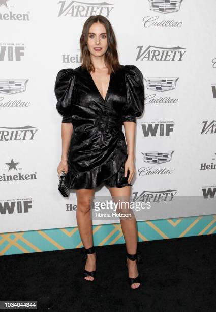 Alison Brie attends Variety and Women In Film's 2018 PreEmmy Celebration at Cecconi's on September 15 2018 in West Hollywood California