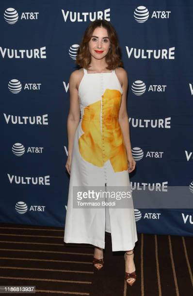 Alison Brie attends Vulture Festival Presented By AT&T at The Roosevelt Hotel on November 10, 2019 in Hollywood, California.