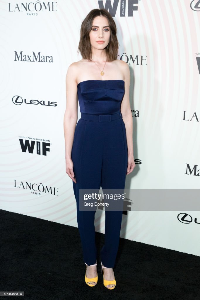 Alison Brie attends Women In Film 2018 Crystal + Lucy Award at The Beverly Hilton Hotel on June 13, 2018 in Beverly Hills, California.