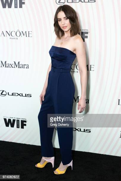 Alison Brie attends Women In Film 2018 Crystal Lucy Award at The Beverly Hilton Hotel on June 13 2018 in Beverly Hills California