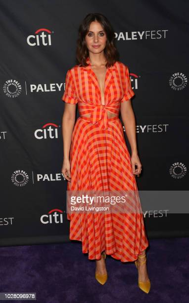 Alison Brie from Netflix's BoJack Horseman attends The Paley Center for Media's 2018 PaleyFest Fall TV Previews Netflix at The Paley Center for Media...