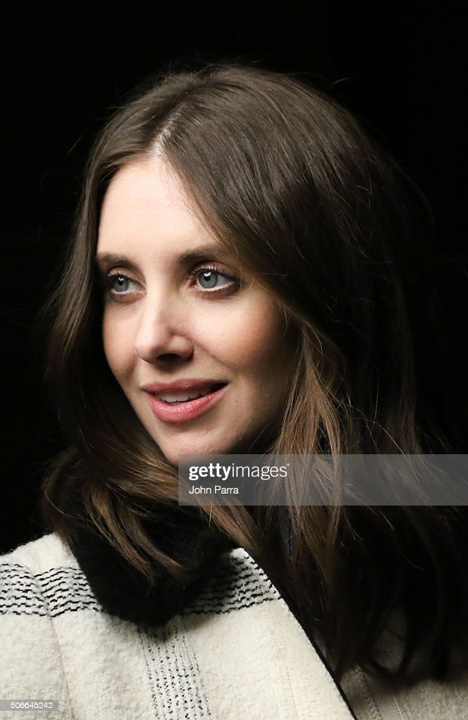 Alison Brie from the film ''Joshy' posed for a portrait during The Hollywood Reporter 2016 Sundance Studio At Rock & Reilly's - Day 3 - 2016 Park Cityon January 24, 2016 in Park City, Utah.