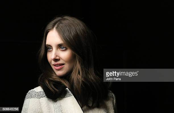 Alison Brie from the film ''Joshy' posed for a portrait during The Hollywood Reporter 2016 Sundance Studio At Rock Reilly's Day 3 2016 Park Cityon...