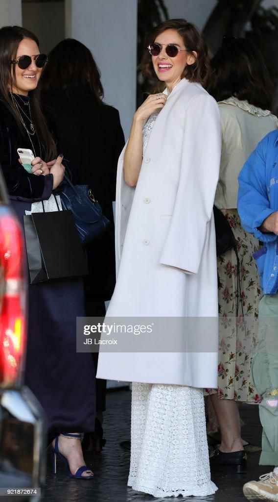 Celebrity Sightings In Los Angeles - February 20, 2018 : Nachrichtenfoto