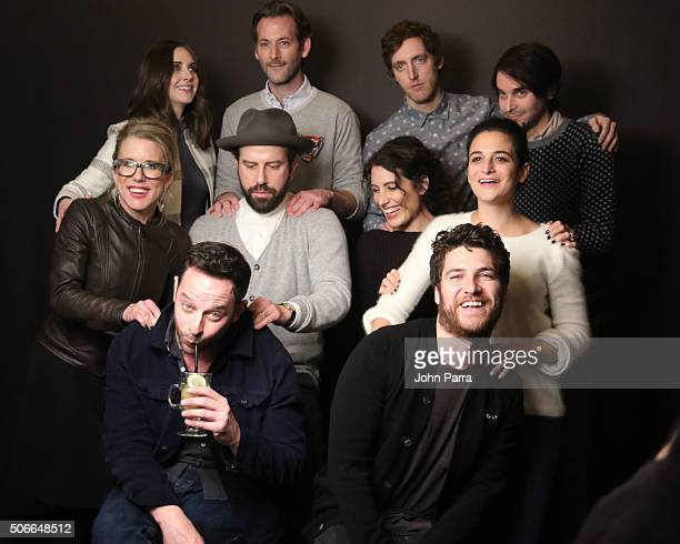 Alison Brie Jeff Baena Thomas Middleditch Adam Pally Nick Kroll Brett Gelman Jenny Slate Aubrey Plaza Lisa Edelstein and Lauren Weedman from the film...