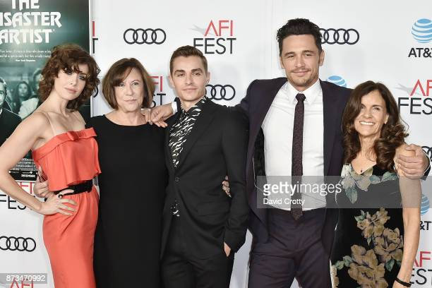 Alison Brie Joanne Brenner Dave Franco James Franco and Betsy Lou Franco attend the AFI FEST 2017 Presented By Audi Screening Of 'The Disaster...