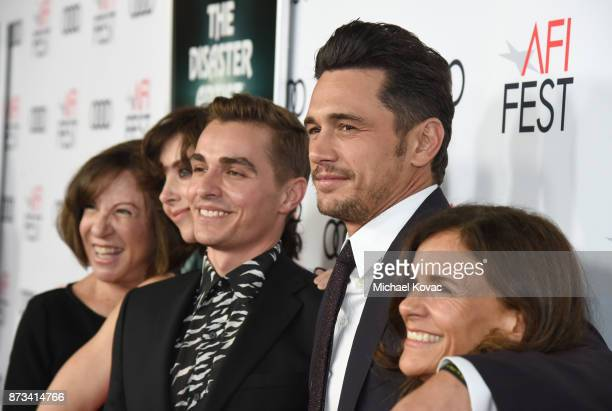 Alison Brie Joanne Schermerhorn Dave Franco James Franco and Betsy FrancoFeeney attend the screening of 'The Disaster Artist' at AFI FEST 2017...