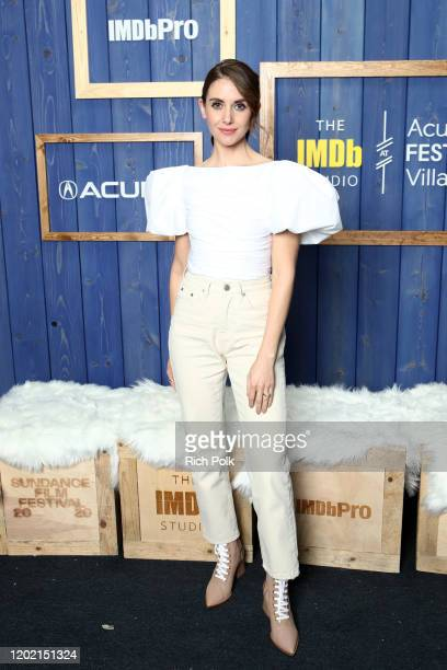 Alison Brie of 'Horse Girl' attends the IMDb Studio at Acura Festival Village on location at the 2020 Sundance Film Festival – Day 3 on January 26...