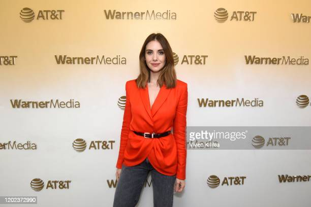 Alison Brie stops by WarnerMedia Lodge Elevating Storytelling with ATT during Sundance Film Festival 2020 on January 27 2020 in Park City Utah